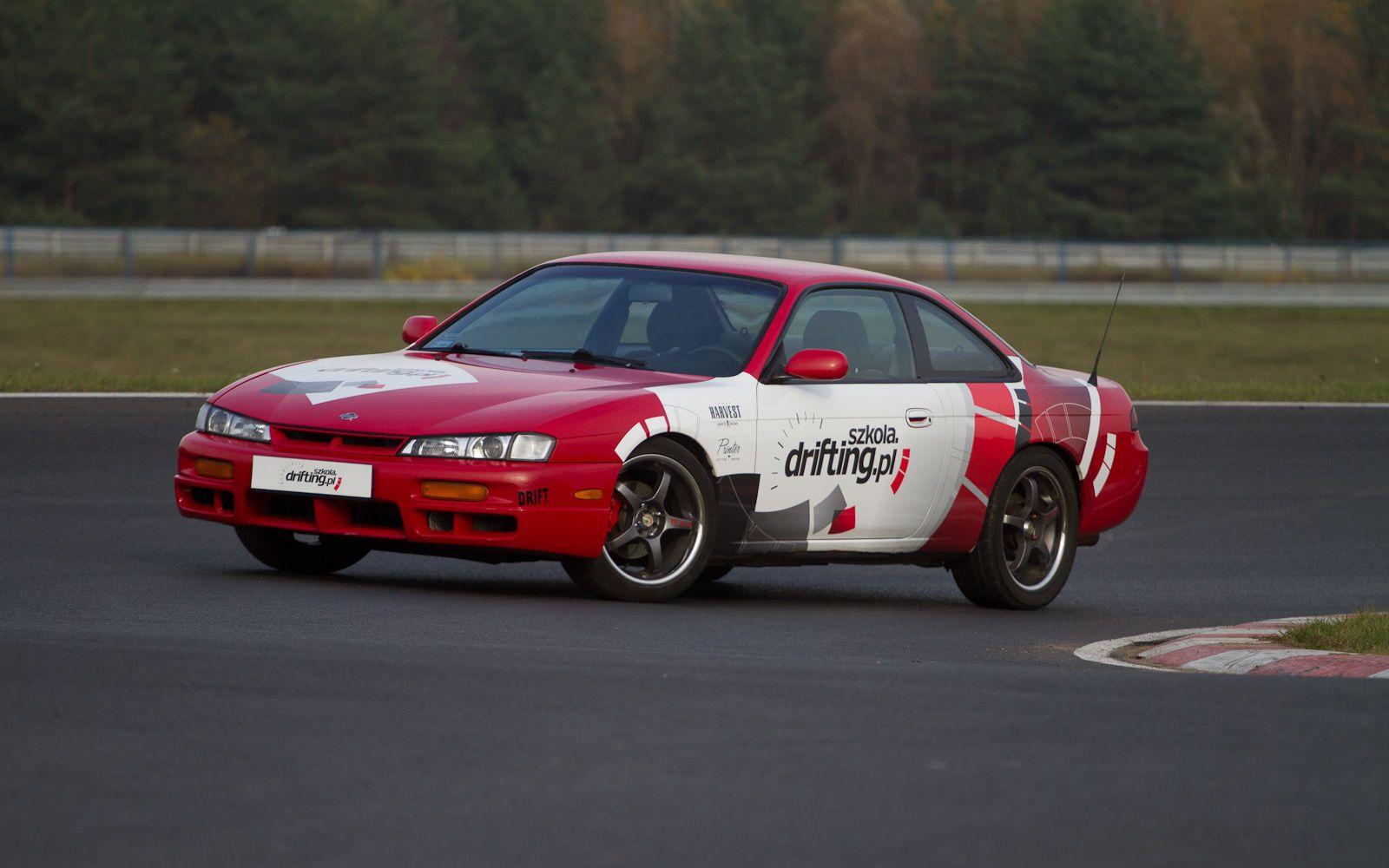 Szkoleniowy Nissan S14a fot.: Adam Zandecki